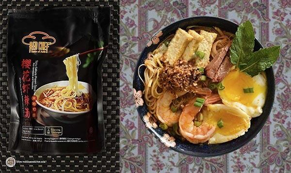 第二位:紅廚Red Chef櫻花蝦辣湯米粉麵 (馬來西亞)